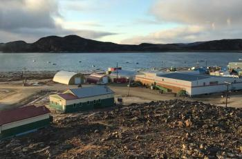 The RCYO was happy to see that the mobile classrooms were up and running when we ran self-advocacy workshops for Cape Dorset high school students in September 2017.